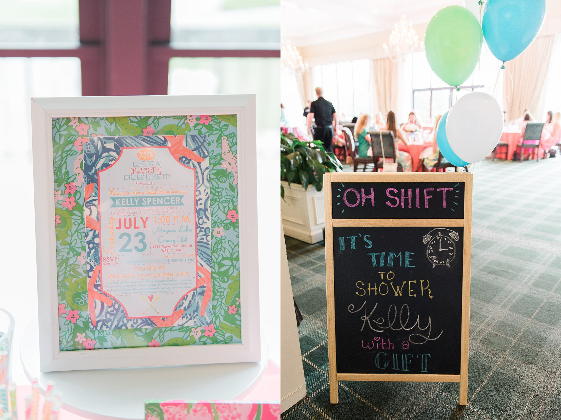 lilly pulitzer bridal shower 2