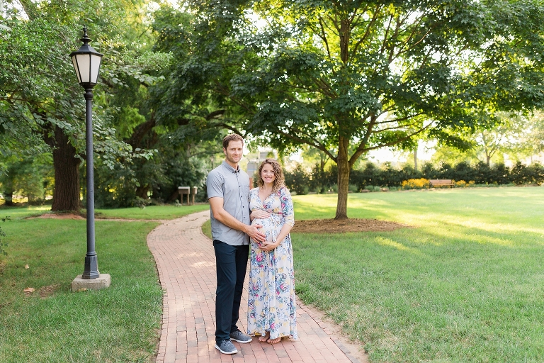 Downtown Davidson Maternity Photography